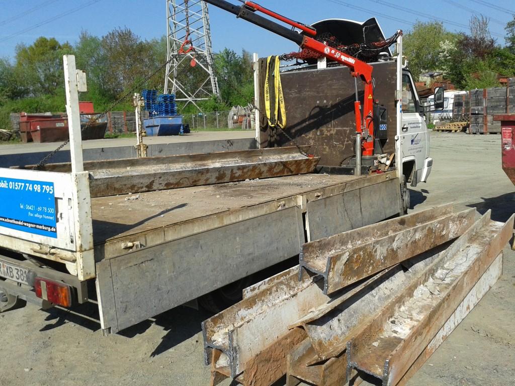 Ankauf von Stahlträgern